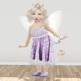 {ugly duckling} Lace Couture Outfit (purple)