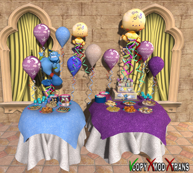 Aphrodite Arabian Baby Shower Party (Boxed, Copy)