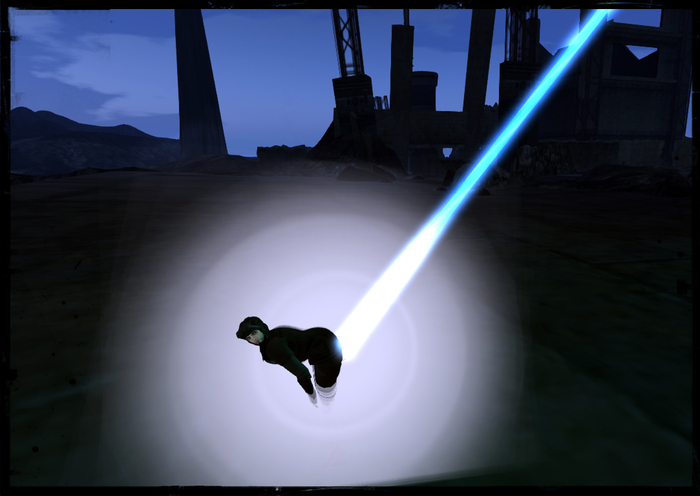 Animated Laser Fart!