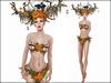 Boudoir Halloween-Autumn Forest Fairy
