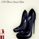 - CH - Therri Classic Heels (Black) [SLINK HIGH]