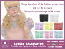 .:Buttery Toast:. Cutesy Calculator- Fatpack
