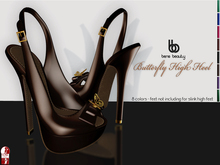 Bens Boutique - Butterfly High Heel (slinkhigh) All Colors