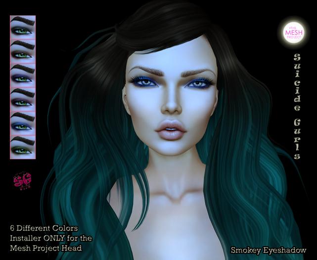 Suicide Gurls - Smokey Eyeshadow