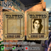 Wanted poster ink banner 2