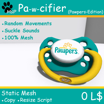 [MsP] Pa-w-cifier (Pawpers - Edition)