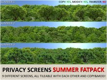 *DQ* PRIVACY SCREENS - SUMMER (FATPACK)