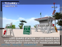 TN Life Guard Station + lifeguard post