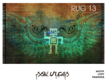 """RUG 13"" Robot Eagle by ""Sources""  PG - PRIM - BOX - Copy and Modify"