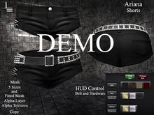 DE Designs - Ariana - Shorts - DEMO
