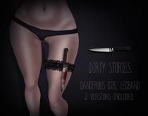 .DirtyStories. Dangerous Girl Legband