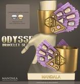 [MANDALA]Odyssey-Bracelet set-Hera(Lavender)
