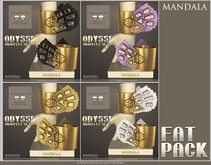 MANDALA]Odyssey-Bracelet set_FATPACK