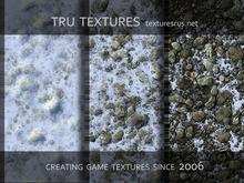 13023:Rocky Winter Terrain Textures 24 Bit TGa