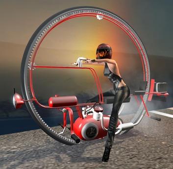 Wheel motorcycle single Single