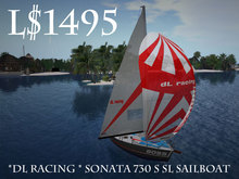 *dL racing * Sonata 730 S SL Boss Sailboat