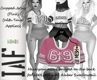 IAF Cropped Jersey (Pink) (With Tango Appliers)