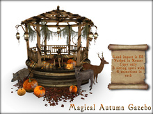 Boudoir Halloween-Magical Autumn Gazebo