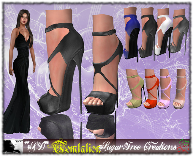 **SD** -Temptation- Sexy High Heels Shoes - Fatpack