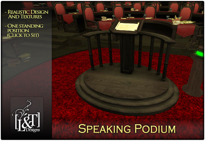 [L&T] - Speaking Podium