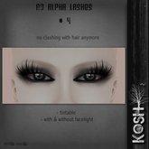 KOSH- NO ALPHA LASHES V4