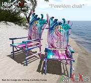 "<Heart Homes> ""Poseidon"" Fishing Chair"