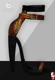 Bens Boutique - Safari Heels Feathers (slinkhigh)