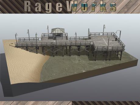 SilverBell Modular Pier Set - (RageWorks)
