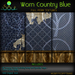 2014 worn country blue textures 2
