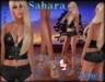 (2Chez) Sahara Mesh Top, Shorts, & SLink FLat Sandals
