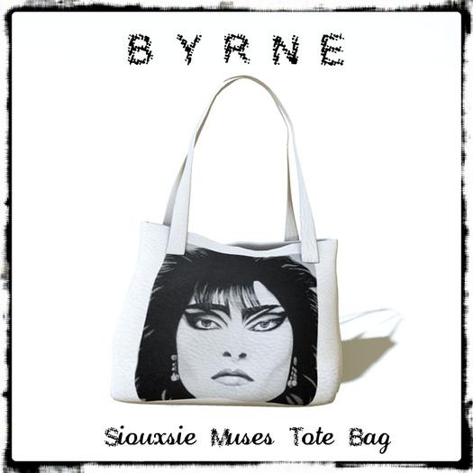 (BYRNE) Siouxsie Muses Tote Bag