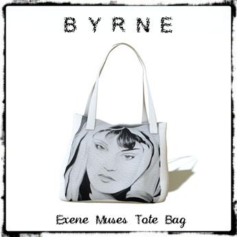(BYRNE) Exene Muses Tote Bag