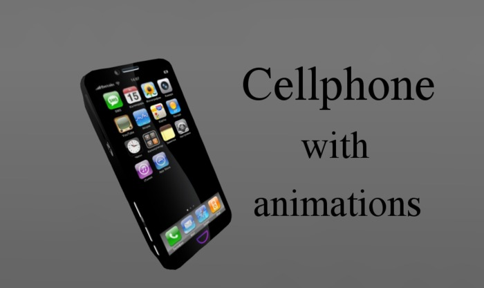 Cellphone with animations (boxed)