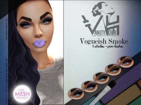VHTMPC6: VOGUEISH SMOKE - EYESHADOW + Liner + Prim Lashes