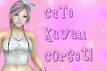 !The Cat's Mew ~ Cutie Kawaii Corset!