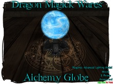 Dragon Magick Wares Animated Alchemy Globe Crystal Ball Mesh