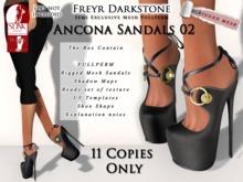 FD Ancona Sandals 02 Semiexclusive slink high 2/11 remain