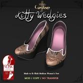 [DDD] Kitty Wedgies - Brown Tabby