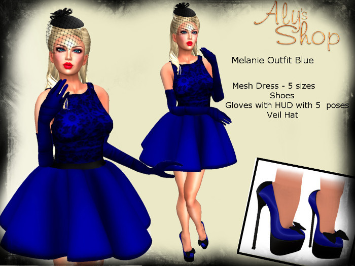*Aly's Shop* Melanie Outfit Blue