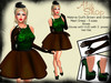Melanie outfit brown and green700x525