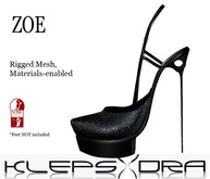 Klepsydra - Zoe Heels - Black (SLink High)