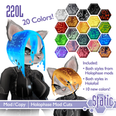 ::Static:: Holophase Mod Hair