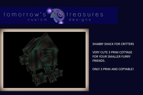 .::TTD::.SMALL COTTAGE SHABBY GOTH(BOXED)