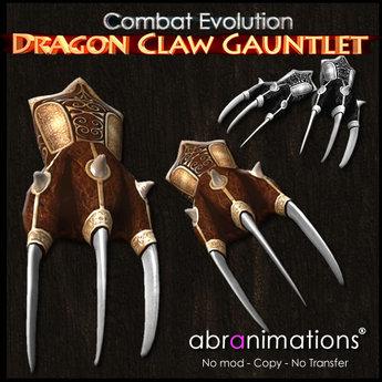 Dragon Claw Gauntlet v4.1 - Abranimations