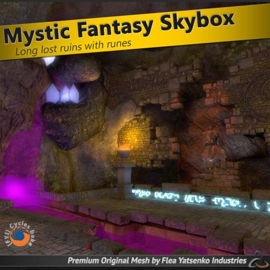 [FYI] Mystic Fantasy Mesh Cave Skybox