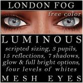 Mayfly - Luminous - FREE Color - Mesh Eyes (London Fog)