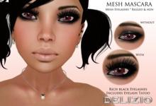 ! Delizio ! - Mesh Mascara # 1 - Mesh eyelashes + Eyelash Tattoo
