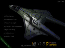 ~Isil~ XF-2 Raven Space FIghter Beta