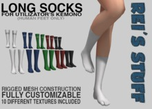 Rei's Stuff - Long Socks for Kemono