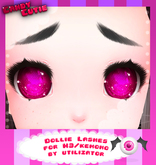 -CandyCutie- Dollie Lashes (For M3/Kemono use only)